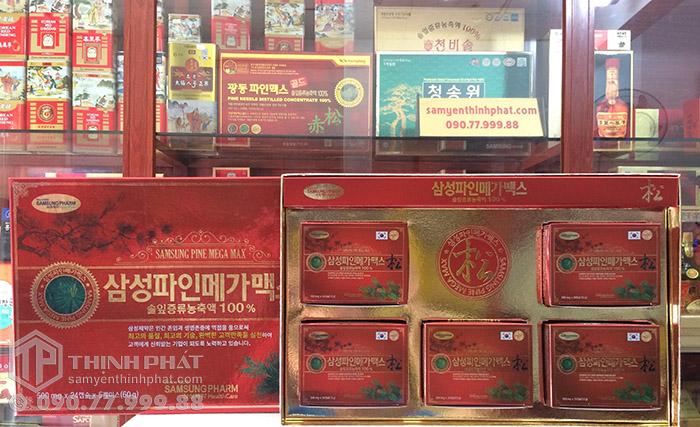 Viên tinh dầu thông đỏ Samsung Pine Mega Max Hàn Quốc cao cấp, Hỗ trợ điều trị mỡ máu hiệu quả
