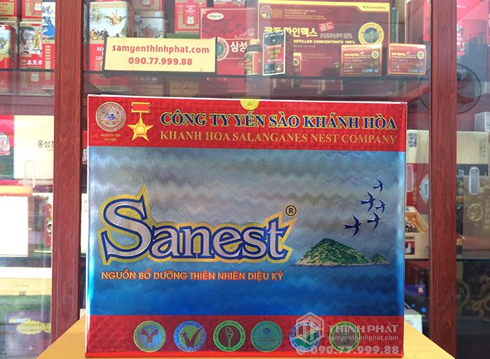 Yến Sào Sanest Khánh Hòa không đường hộp 6 lọ