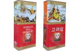 Hồng Sâm Hàn Quốc củ khô Hộp Thiếc Ông bà lão hãng Dong Jin 300g 10 củ lớn