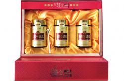 Cao hồng sâm Hàn Quốc 6 năm tuổi hộp 3 lọ x 240g