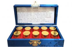 An cung ngưu Hàn Quốc hộp xanh 10 viên