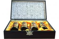 Cao hồng sâm Hàn Quốc hộp gỗ 4 lọ x 250g