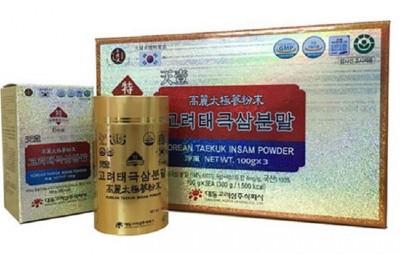 Bột Hồng Sâm Hàn Quốc Deadong 300g hộp 3 lọ