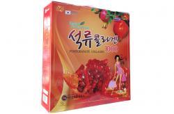 Nước ép lựu collagen Kanghwa Hàn Quốc hộp 30 gói