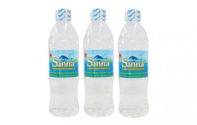 Nước uống đóng chai Sanna Khánh Hòa thùng 24 chai - loại 500ml