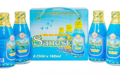 Nước yến Sanest chai 180ml thùng 30 chai