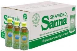 Nước rong biển Sanna, thùng 24 chai