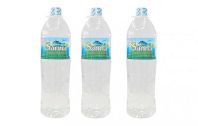 Nước uống đóng chai Sanna Khánh Hòa thùng 12 chai - loại 1,5 lít