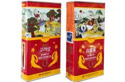 Hồng sâm củ khô 6 năm tuổi 75g hộp thiếc chính hãng Daedong Hàn Quốc