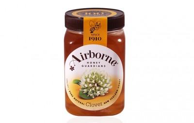 Mật ong New Zealand nguyên chất Airborne Clover 500g