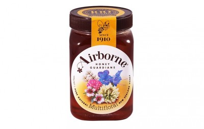 Mật ong New Zealand nguyên chất - Airborne Multifloral 500g