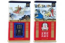 Hồng sâm củ khô KGC 20PCS 150g 7 củ - Hồng sâm chính phủ Hàn Quốc