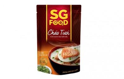 Cháo tươi bổ dưỡng SGfood - Cá Hồi đậu Hà Lan