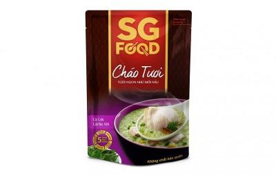 Cháo tươi bổ dưỡng SGfood - Cá lóc cải bó xôi