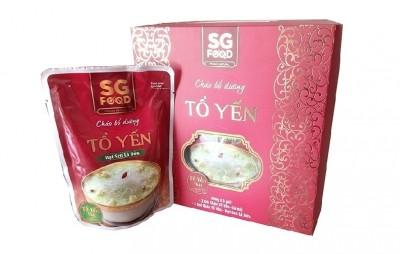 Cháo tổ yến bổ dưỡng - cháo tươi SGfoods 3 gói/ hộp