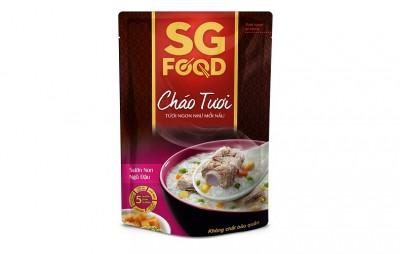Cháo tươi bổ dưỡng SGfood - Sườn hầm ngũ đậu