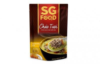 Cháo tươi bổ dưỡng SGfood - Thịt bằm bí đỏ