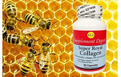 Viên sữa ong chúa Mỹ - kết hợp collagen
