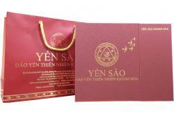 Tổ Yến Sào Khánh Hòa mẫu hộp quà tặng đặc biệt 100g - 014GS