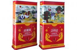 Sâm Hàn Quốc củ khô hộp thiếc 150g mẫu mới