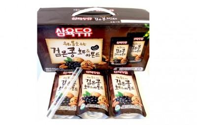Nước óc chó Hàn Quốc 1 hộp 20 gói (195ml/gói)