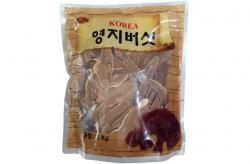 Nấm linh chi Hàn Quốc thái lát bịch 500g