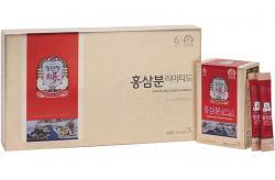 Bột hồng sâm Chính phủ Hàn Quốc KGC Cheong Kwan Jang hộp 60 gói x 1,5g