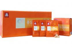Viên cao hồng sâm Hàn Quốc cao cấp KGC vitamin e hộp 180 viên