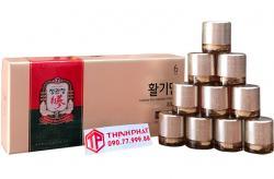 Viên hồng sâm viên hoàn KGC hộp 10 viên x 37,5g