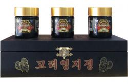 Cao linh chi núi Hàn Quốc cao cấp hộp gỗ đen 3 lọ x 120g gold