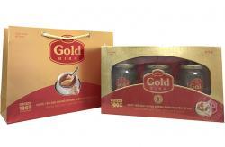 Tổ yến chưng đường phèn 100% tổ yến hộp 3 hũ - 190g/ hũ - Gold Bird