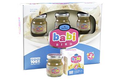 Yến sào cao cấp cho trẻ em babi bird 1 lọ