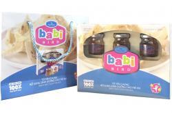 Yến sào cao cấp cho trẻ em Babi Bird - hộp 6 lọ