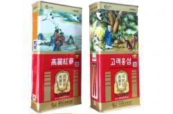 Hồng sâm củ khô hộp thiếc nội địa Hàn Quốc 300g