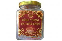 Đông trùng hạ thảo SAHA sợi khô Việt Nam lọ 10g