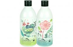 Bộ dầu gội đầu và xả dưỡng trị rụng tóc nhân sâm Hàn Quốc Queen Perfume