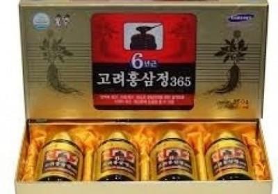 Cao hồng sâm Hàn Quốc 6 năm tuổi 240g hộp 4 lọ