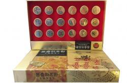 Viên đông trùng hạ thảo Hàn Quốc viên hoàn hộp 18 viên gold