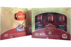 Tổ yến chưng đường phèn 100% tổ yến hộp 6 hũ - 190g/ hũ - Gold Bird
