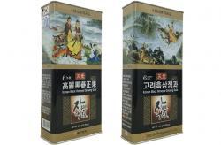 Hắc sâm tẩm mật ong hộp thiếc Dongjin hộp 300g