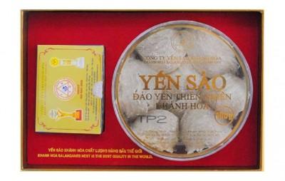 Tổ Yến Sào Khánh Hòa đảo nguyên chất hộp 100g - TP2