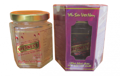 Tổ yến chưng đường phèn 100% tổ yến Yến sào Việt Nam VietNest - 190ml/lọ yến cao cấp