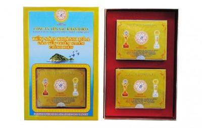 Tổ Yến Sào Khánh Hòa tinh chế hộp quà tặng 2 hộp 5g - 012G2