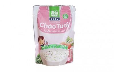 Cháo tươi bổ dưỡng SGfood - Thịt bò đậu hà lan cà rốt