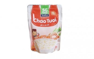 Cháo tươi bổ dưỡng SGfood - Gà và Cà Rốt
